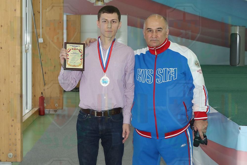 Александр Виноградов и Максим Абдулмеджидов