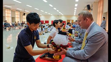Southern International School Hatyai — Wai Kru ceremony