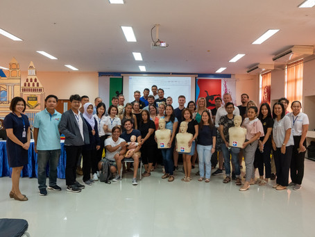 SIH Staff Basic Life Support, CPR, and First Aid Training from Bangkok Hospital
