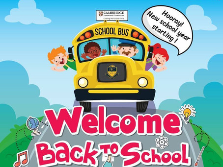 Hooray for a  New School Year !