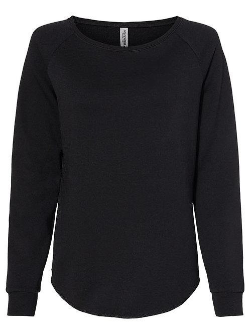 Women's California Wave Wash Crewneck Sweatshirt