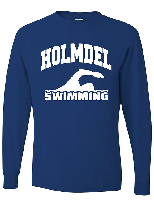 SWIMMING LONG SLEEVE T