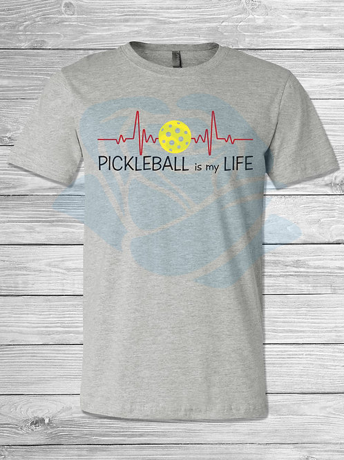 PICKLEBALL HEARTBEAT TRIBLEND T
