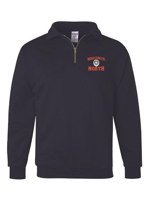 Super Sweats NuBlend® 1/4 Zip Cadet Collar Sweatshirt