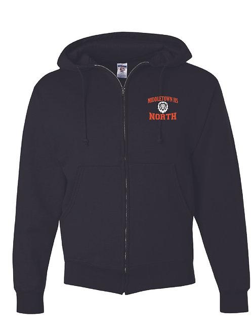 Super Sweats NuBlend® Full Zip Hooded Sweatshirt