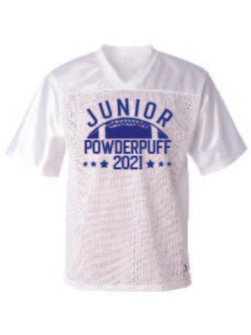 JUNIOR_FLAG FOOTBALL JERSEY -WHITE