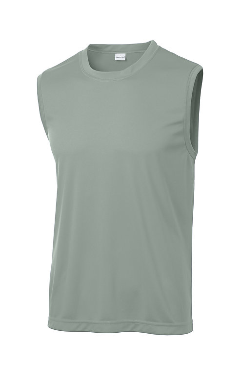 Mens Sleeveless PosiCharge Competitor Tee