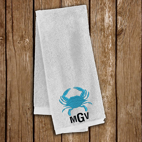 Embroidered Sport Towel