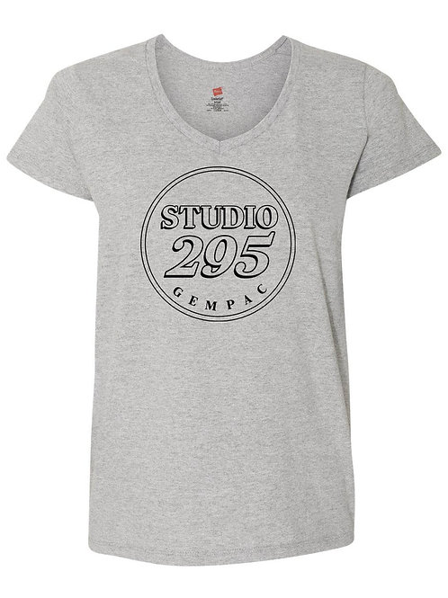 Ladies V-Neck T