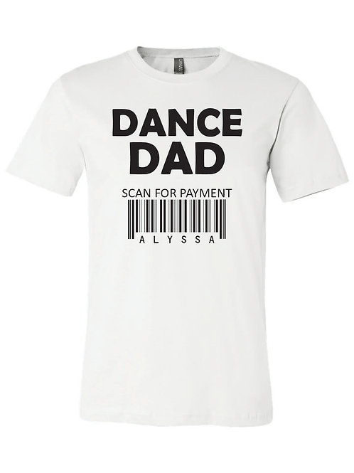 DANCE DAD TRIBLEND T SHIRT
