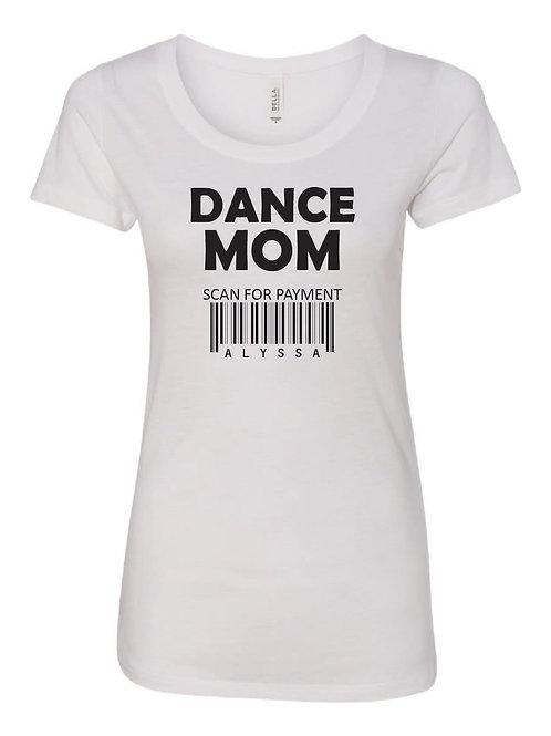 DANCE MOM TRIBLEND T SHIRT