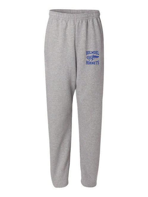 Jerzees - NuBlend® Open Bottom Pocketed Sweatpants