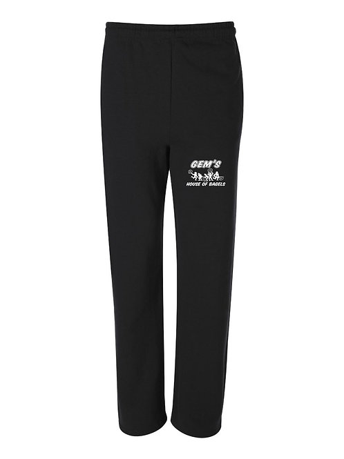 Jerzees - NuBlend® Open Bottom Pocketed Sweatpants