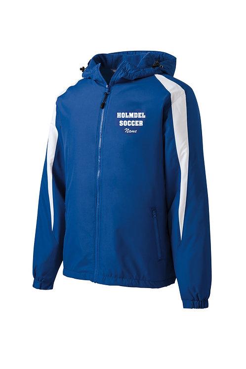 Sport-Tek® Fleece-Lined Colorblock Jacket