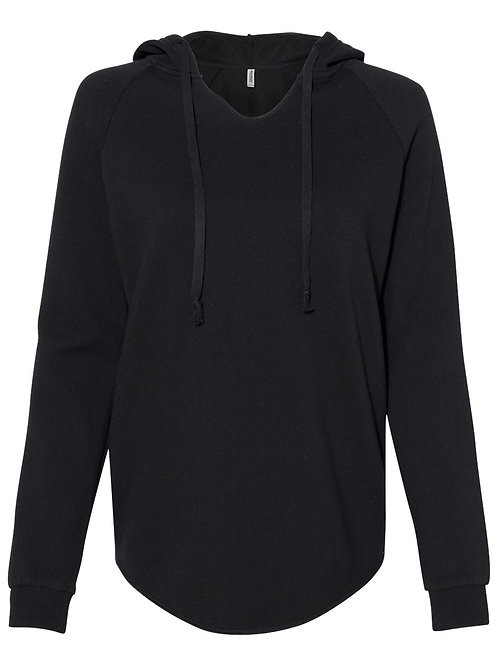 Independent Trading Co. - Women's Lightweight California Wave Wash Hooded Sweats