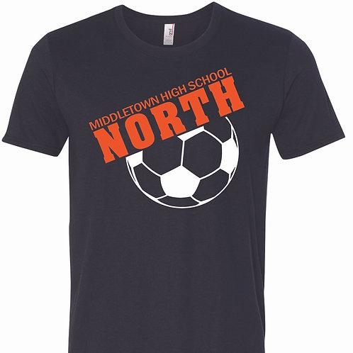 Soccer Unisex Triblend T-Shirt