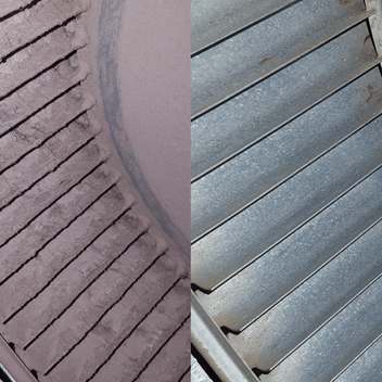 Furnace Blower Fan Before & After Cleaning