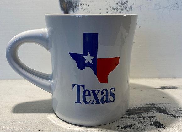 Texas Flag & State Mug