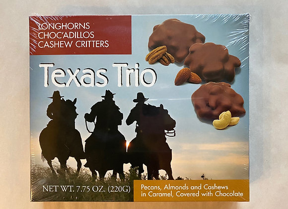 Texas Trio Chocolates