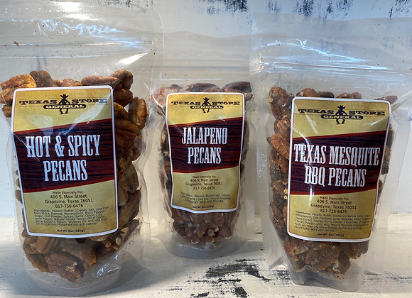 Texas Pecans (savory flavors)