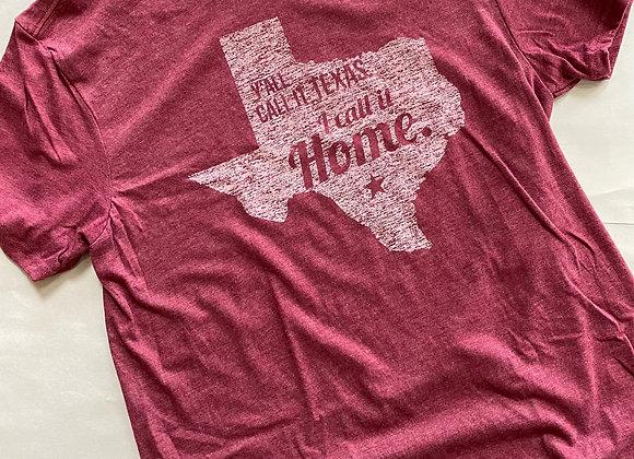 I Call It Home Shirt