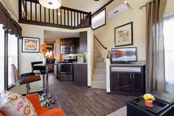 Model 509-SL Living-Kitchen