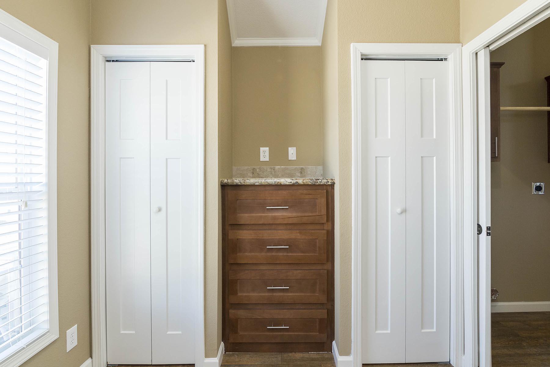 The Baja APH-532 bedroom closet