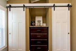 The Destin APH-523 bedroom closet