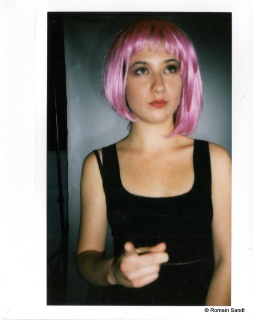 Sasha Pink hair