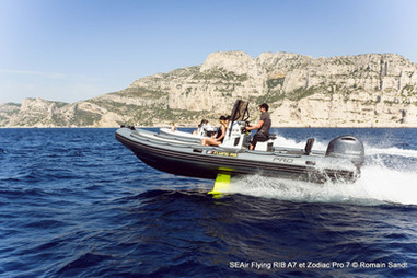 Zodiac Pro 7 Flying RIB by SEAir