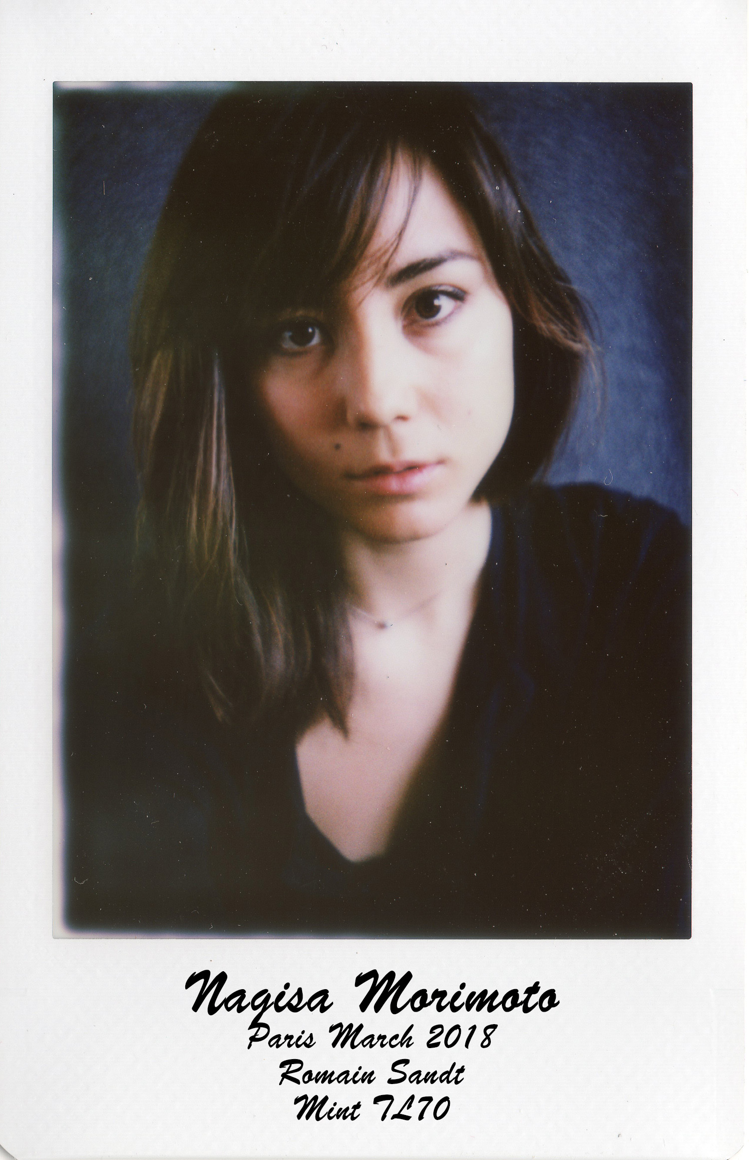 INSTAX169 Mint camera TL70  Nagisa Morimoto - Romain Sandt