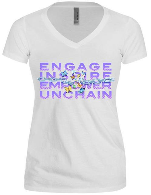 UnChaining Me White Tshirt