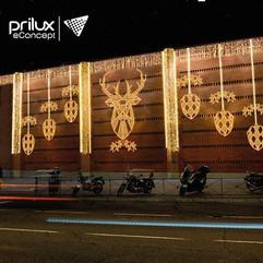 Iluminação de Natal eConcept by Prilux