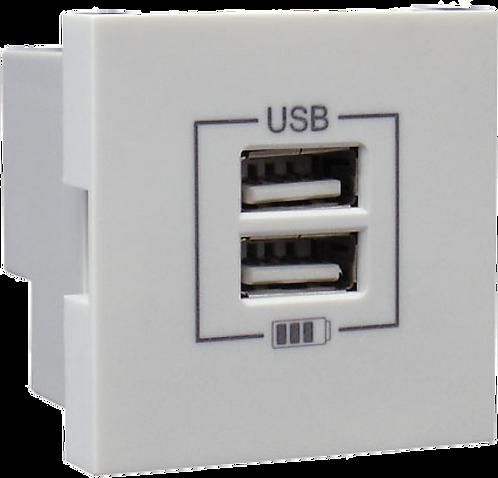 CARREGADOR DUPLO USB TIPO A EFAPEL