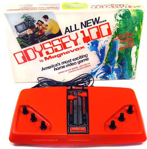 console Odyssey 1000 de 1966