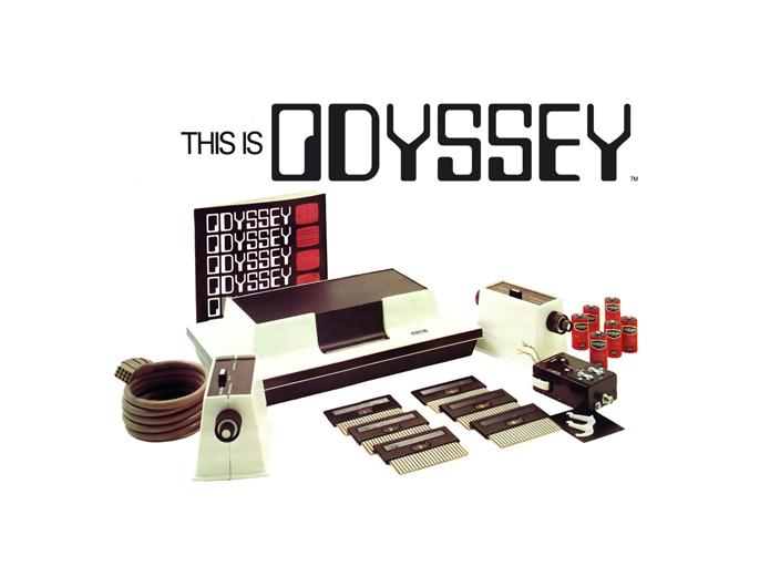 console Odyssey Magnavox 1972