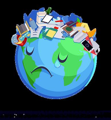 mundo chorando pelo lixo