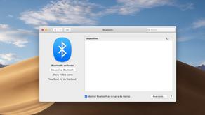 Restaurar Modulo Bluetooth en MacOS