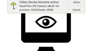 Proteger mi Mac ante malware que graba  sesiones de audio y video