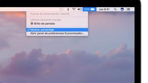 ¿Cuándo hay que cambiar la batería del Mac?