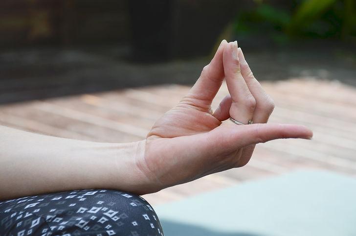 Hridaya Mudra Zone In Yoga