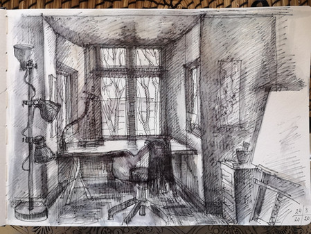 Sketchbook-at home