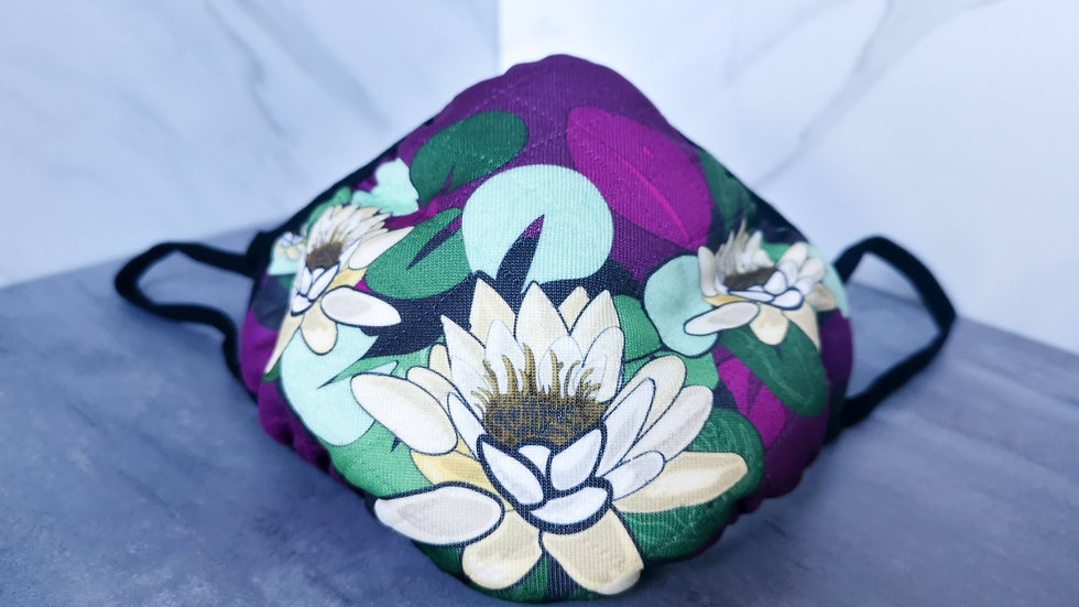 White Water Lily Masks