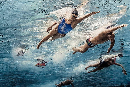 Swim Resistance Chute