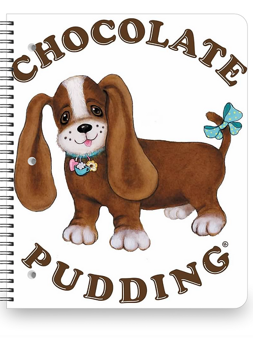 Chocolate Pudding 8.5 X11 Premium Notebook