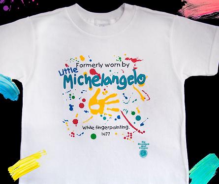 LITTLE MICHELANGELO- Fingerpainting