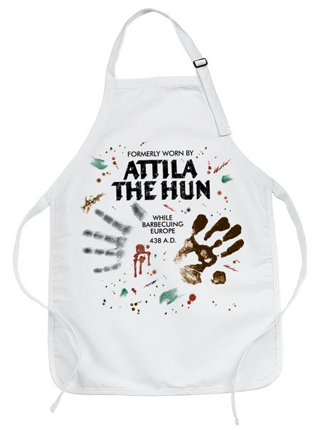 ATTILA THE HUN BARBECUE APRON-While Supplies Last