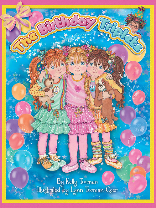 The BirthdayTriplets Signed & Personalized Book-FREE SHIPPING! LIMITED TIME