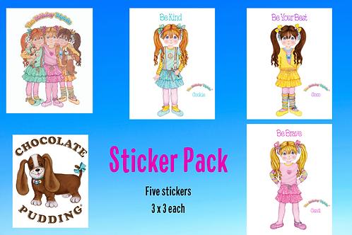 Sticker Pack Set of 5