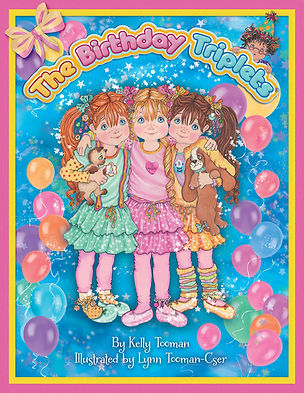 The Birthday Triplets Book